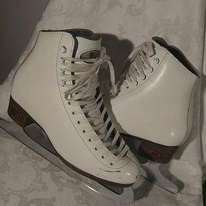 Reidell Ice Skates Great Cond Sz 4 1/2